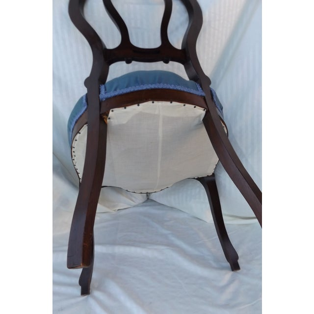 Victorian Ladies Parlor Accent Chair - Image 8 of 8