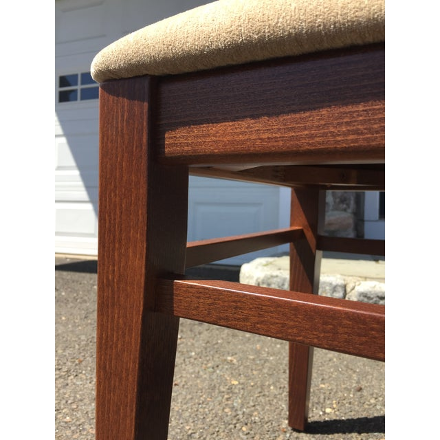 Modern Beech Wood Dining Chair For Sale - Image 4 of 6