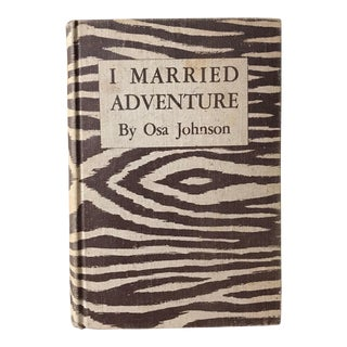 """I Married Adventure"" 1940s Book"