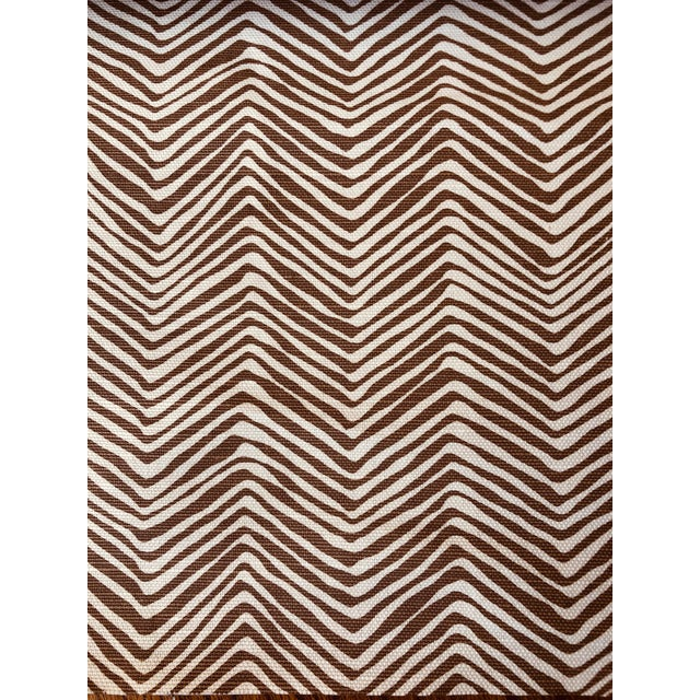 Quadrille Alan Campbell Petite Zig Zag 5 Yards For Sale In Dallas - Image 6 of 6