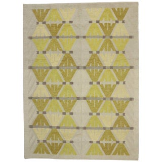 20th Century Contemporary High and Low Texture Rug - 9′4″ × 12′8″ For Sale