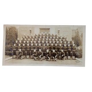 U S Navy Graduating Platoon Panoramic Photo Norfolk 1942 For Sale