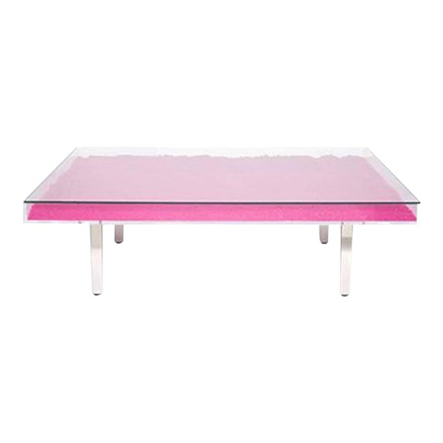 Yves Klein Rose Table For Sale