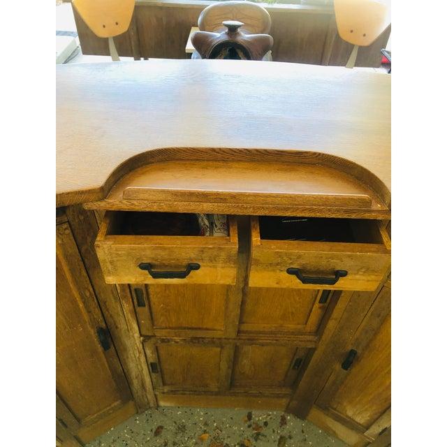 1940s English Colonial Tiki Bar For Sale - Image 10 of 13
