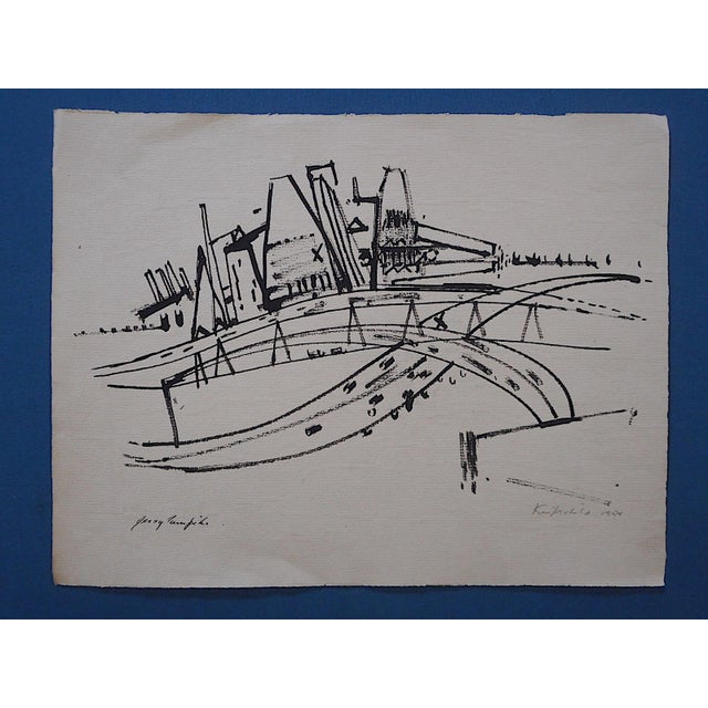 Jersey Turnpike-Pencil Signed - Image 2 of 3
