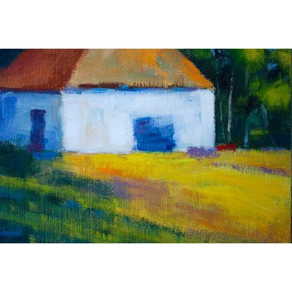 "2010s ""Harmony, CA"" Plein Air Oil Painting For Sale - Image 5 of 6"