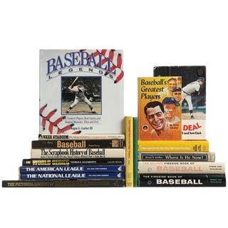 Vintage Baseball History Books, S/16 For Sale