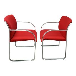 Chrome Chairs - A Pair For Sale
