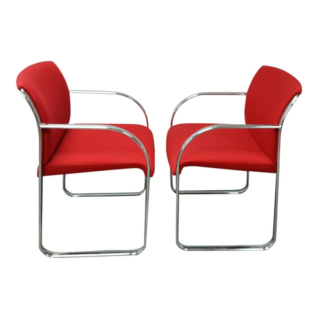Chrome Chairs - Set of Four For Sale