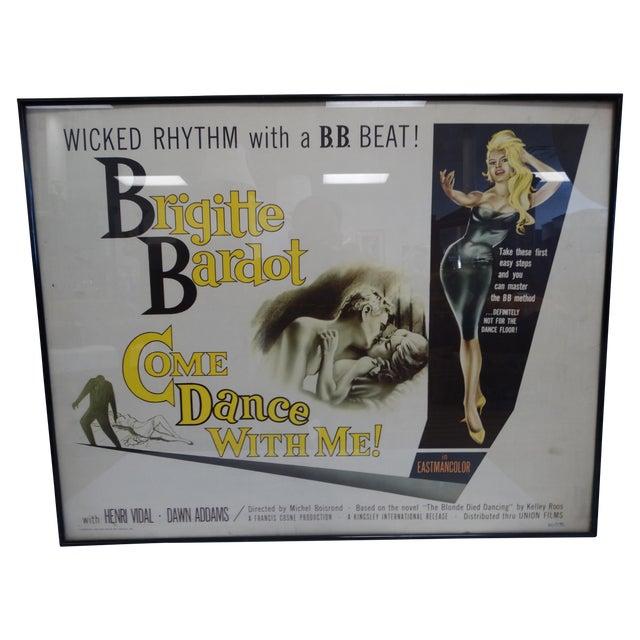 Original Brigitte Bardot Movie Poster - Image 1 of 7