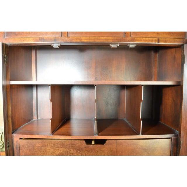 Michael Taylor for Baker Middle East Collection Walnut Highboy Dresser For Sale - Image 11 of 12