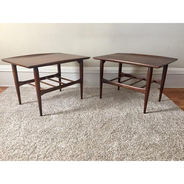 Bassett Side Tables - Pair - Image 2 of 11