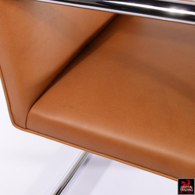 Silver Six Mies Van Der Rohe Brno Armchairs by Knoll For Sale - Image 8 of 13
