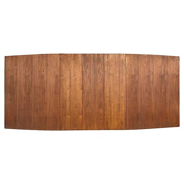 1960s Walnut Expandable Dining Table - Image 3 of 7
