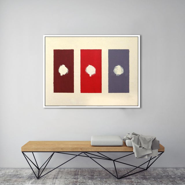 """Red Domino"" Fine Art Giclée Print - Image 3 of 3"