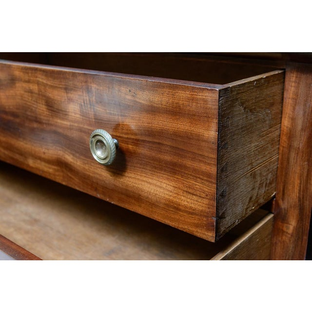 Empire French Empire Marble Top Mahogany Chest For Sale - Image 3 of 7