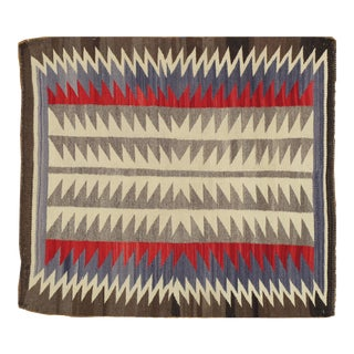"Vintage Navajo Rug, 2'8""x3' For Sale"