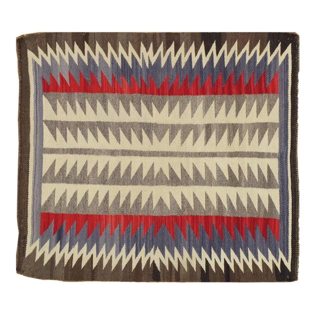 "Vintage Navajo Rug, 2'8""x3' For Sale"