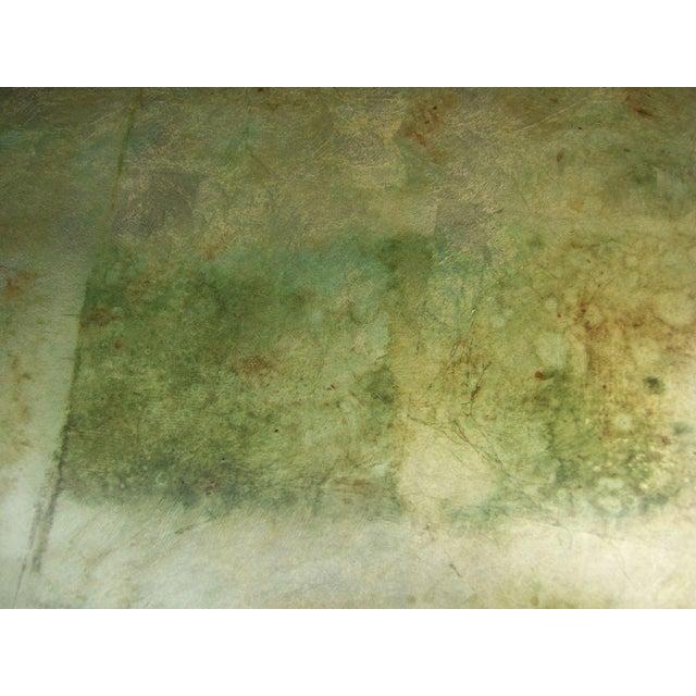 A James Mont Camouflage Gold Leaf Dining Room Set - Image 9 of 10