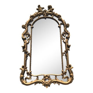 19th Century Vintage Rocco Style Resin Mirror For Sale