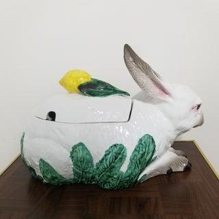 Oversized Italian Majolica Rabbit Tureen Preview