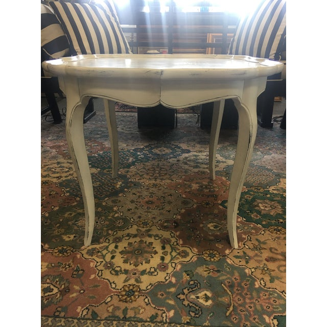 French White Coffee Table - Image 4 of 6