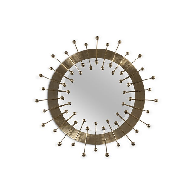 A contemporary descendant of mid-century modern style. Quantum circular wall mirror is not just a spot-on reflection of the...