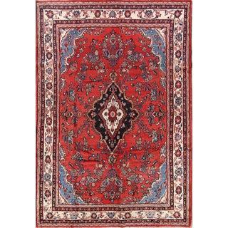 Persian Hamadan Rug - 7′ × 10′2″