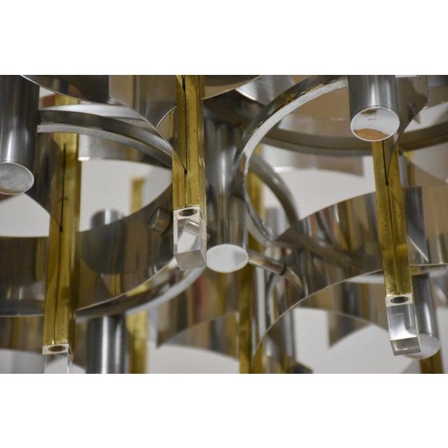 Gaetano Sciolari Italian Gaetano Sciolari Chandelier For Sale - Image 4 of 8