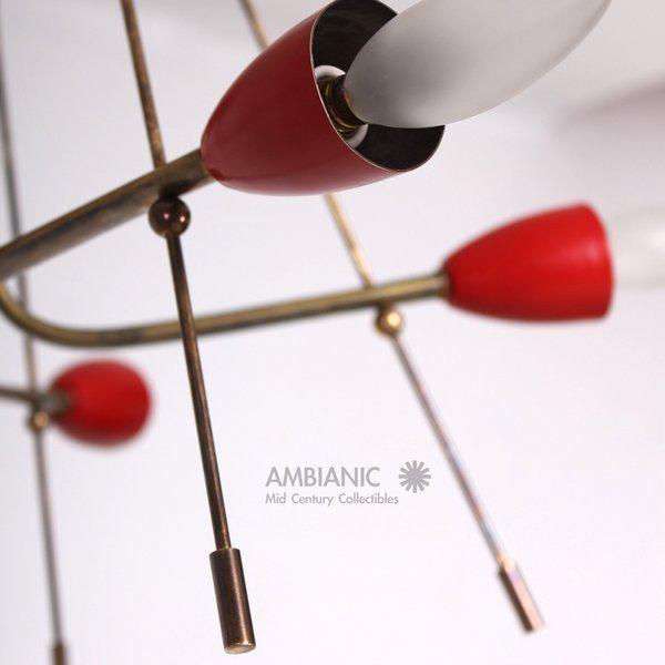 Mid-Century Modern Italian Sputnik Chandelier For Sale In San Diego - Image 6 of 10