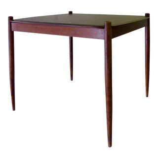 Rosewood Mid Century Modern Dining / Game Table by Sergio Rodrigues