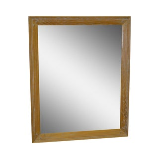 Brandt Ranch Oak Rustic Rectangular Wall Mirror For Sale