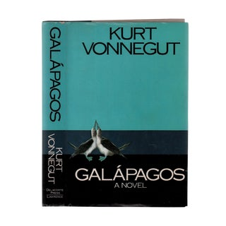 "1985 ""First Edition, Galapagos"" Collectible Book For Sale"