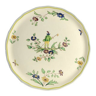Longchamp Moustiers Round Torte Plate For Sale