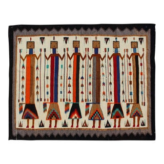 Large Navajo Yei Yei Be Chai With Six Holy People For Sale