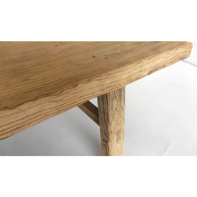 Early 19th Century Northern Japanese Elm Cocktail Table For Sale - Image 5 of 10