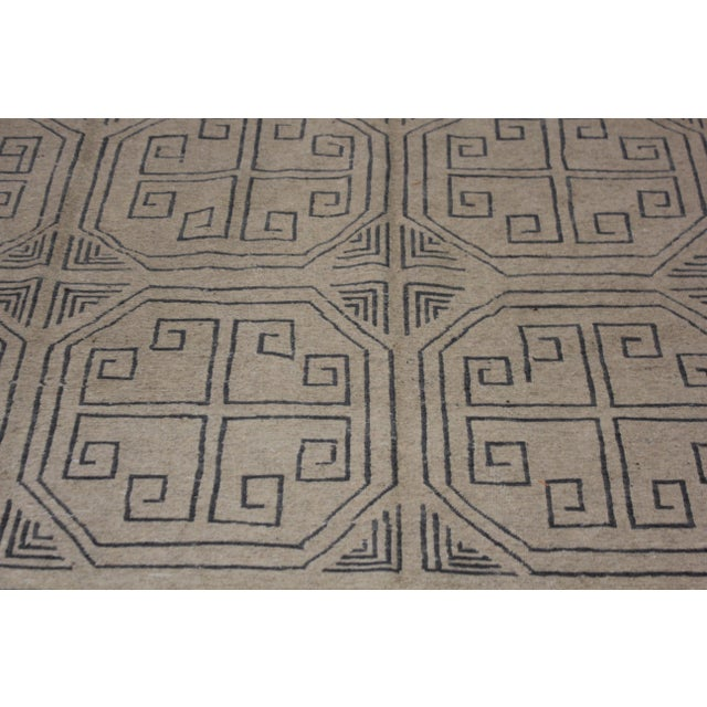 """Contemporary Aara Rugs Inc. Hand Knotted Modern Kilim - 6'10"""" X 10'0"""" For Sale - Image 3 of 5"""