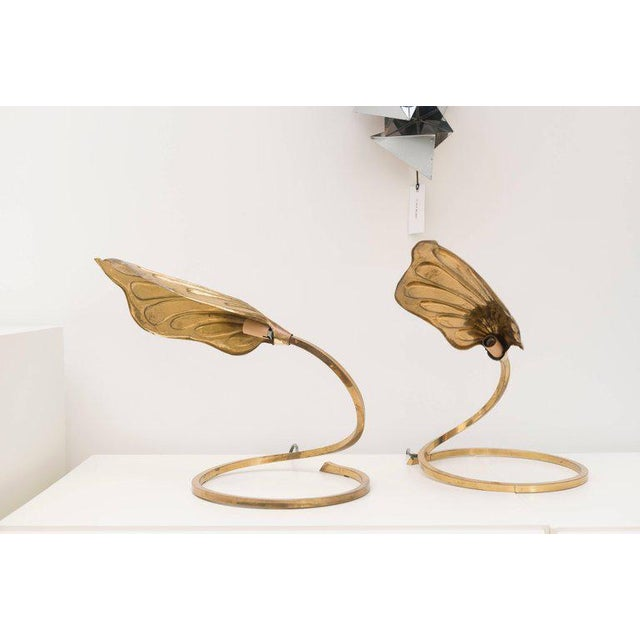Tommaso Barbi Brass Table Lamps - A Pair - Image 5 of 8