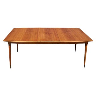 Vintage Italian Extension Dining Table For Sale