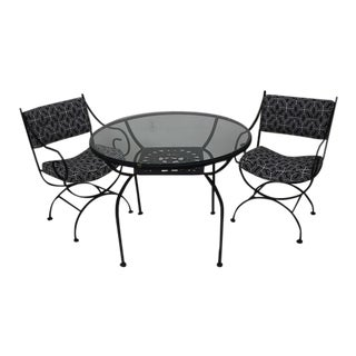 Arthur Umanoff Bistro Dining Set For Sale