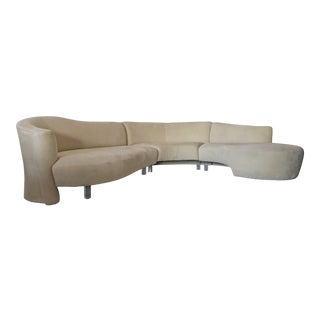 Vladimir Kagan for Weiman Sectional Sofa