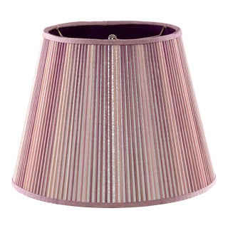 """Empire Stick Shade in Two Tone Washed Purple/Pink, 16"""" For Sale"""