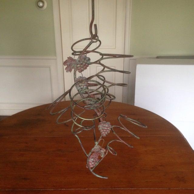 Vintage Metal Hanging Bottle Tree - Image 2 of 11