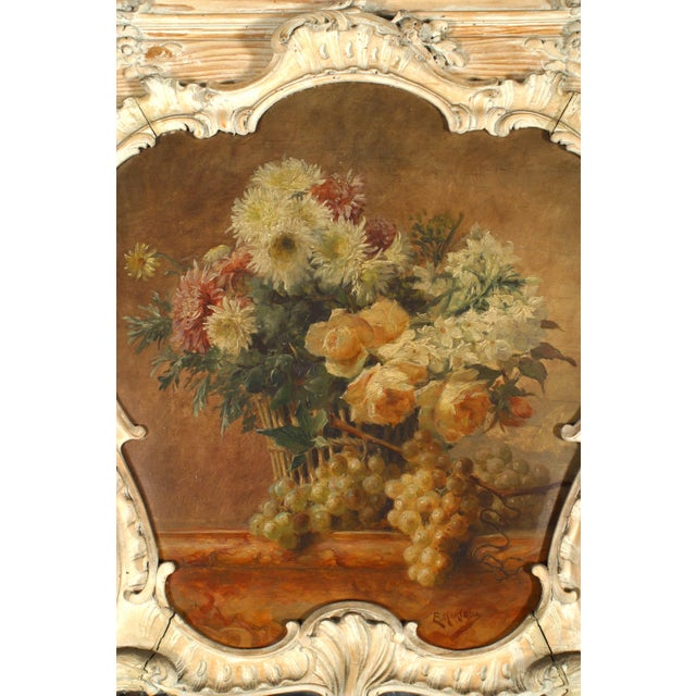 19th Century French Louis XV Console Table and Mirror For Sale In New York - Image 6 of 8