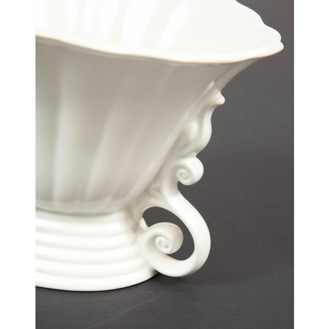 White Trio of White Wade Vases - Set of 3 For Sale - Image 8 of 11