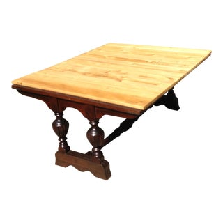 1950s Traditional Duncan Phyfe Repurposed Coffee Table For Sale