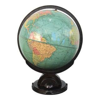 Machine Age Art Deco Globe For Sale