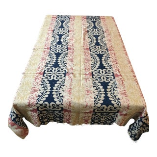 Antique 1846 American Coverlet For Sale