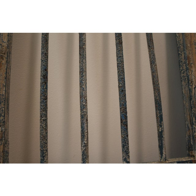 Reclaimed Architectural Wrought Iron Doors - A Pair - Image 8 of 11