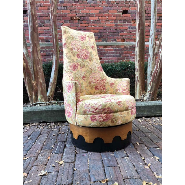 1960s 1960s Adrian Pearsall High Back Spanish Style Chair For Sale - Image 5 of 8